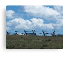 Fence to Heaven Canvas Print