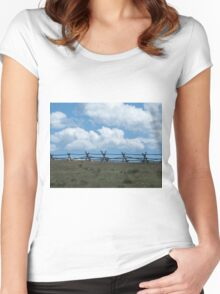 Fence to Heaven Women's Fitted Scoop T-Shirt