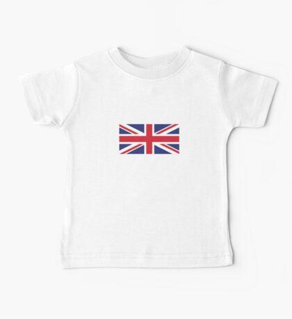British Flag Baby Tee