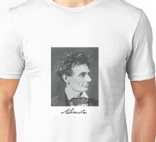 Wild Haired Abraham Lincoln Unisex T-Shirt