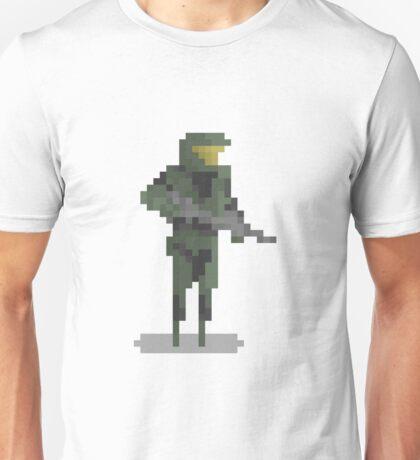 8 Bit Heroes - Master Chief Unisex T-Shirt