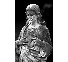 Jesus Statue Photographic Print