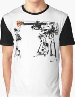Megatron - Peace Through Botany Graphic T-Shirt