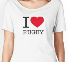 I ♥ RUGBY Women's Relaxed Fit T-Shirt