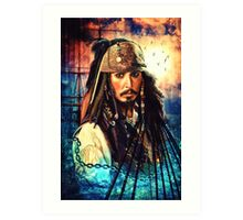 He's A Pirate Art Print