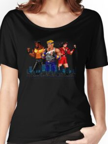 STREETS OF RAGE - AXEL-BLAZE-ADAM - CITY (2) Women's Relaxed Fit T-Shirt
