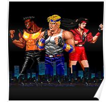 STREETS OF RAGE - AXEL-BLAZE-ADAM - CITY (2) Poster