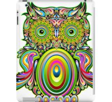 Owl Colorfull Psychedelic Trippy iPad Case/Skin