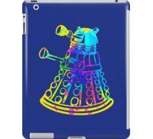 Colorful Splatter Paint Dalek iPad Case/Skin