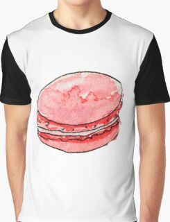 watercolor red macaroons Graphic T-Shirt