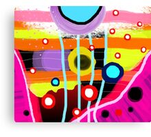The most desigual ugly abstract art in the world Canvas Print