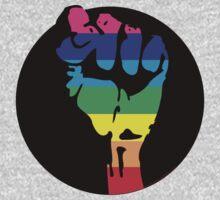 pride fist Kids Clothes