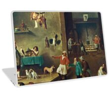 The Kitchen by David Teniers the Younger Laptop Skin