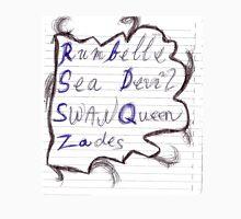 OUAT OTPs - rumbelle, sea devil, swan queen, zades Unisex T-Shirt