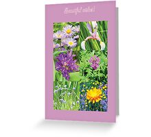Flowertime Greeting Card