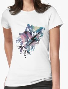 KISS ME DEMENTOR Womens Fitted T-Shirt