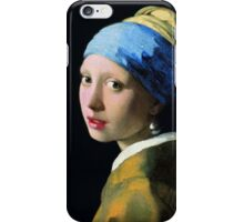 Vermeer - Girl with a Pearl Earring iPhone Case/Skin
