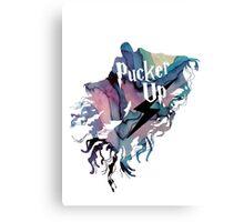 PUCKER UP DEMENTOR Canvas Print