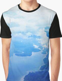 Coastal aerial view Graphic T-Shirt