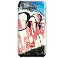Rural scrawl iPhone Case/Skin
