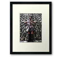 Mr Paddles Framed Print