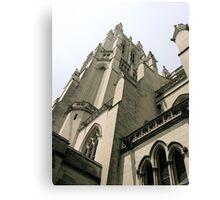 National Cathedral Detial Canvas Print
