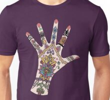 Dr's Colourful Mehndi hand T-Shirt