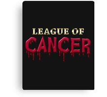 League Of Cancer Canvas Print