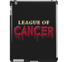 League Of Cancer iPad Case/Skin