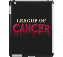 League Of Cancer iPad Case/Skin