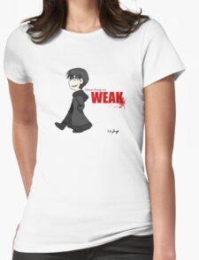 Human Beings Are Weak - Izaya Orihara Shirt Womens Fitted T-Shirt