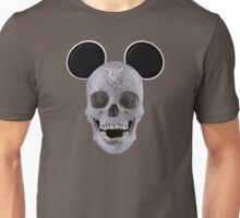 Diamond Mouse Skull Unisex T-Shirt