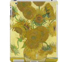 Sunflowers by Vincent van Gogh iPad Case/Skin