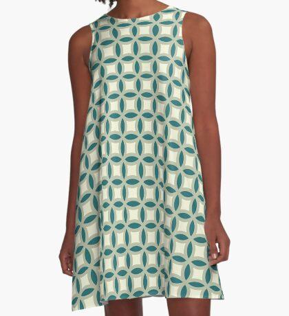 Green Grover A-Line Dress