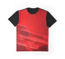 red dynamic arrows illustration original design Graphic T-Shirt