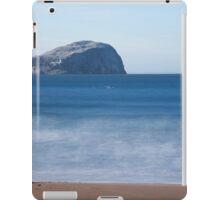 Bass Rock in blue iPad Case/Skin
