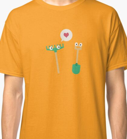Spade and  Rake in love Classic T-Shirt