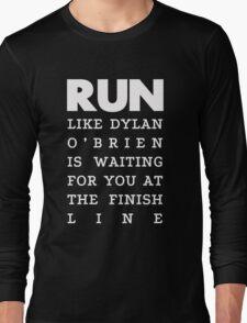 RUN - Dylan O'Brien 2 Long Sleeve T-Shirt