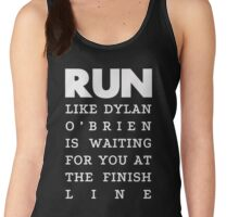 RUN - Dylan O'Brien 2 Women's Tank Top