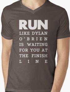 RUN - Dylan O'Brien 2 Mens V-Neck T-Shirt