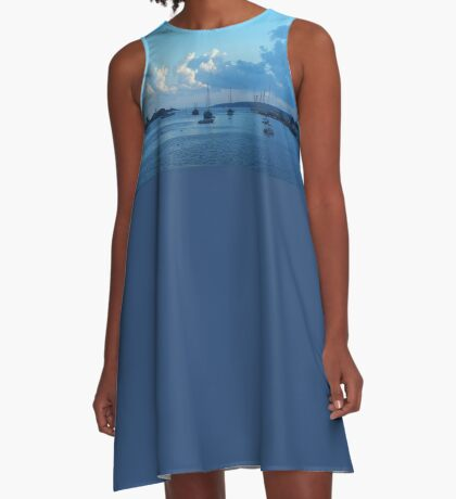 Blue Harbor A-Line Dress