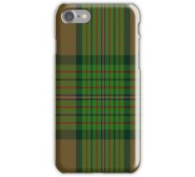 01852 California Dept. of Forestry Tartan iPhone Case/Skin