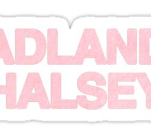 BADLANDS sticker Sticker