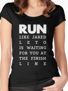 RUN - Jared Leto 2 Women's Fitted Scoop T-Shirt