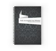 PSS: Pioneer Service School (Elegant Ribbon) Spiral Notebook