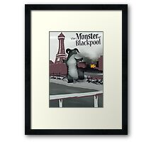 Monster of BP - Titled Framed Print