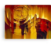 Stepping Through Time Abstract Surreal Art Canvas Print