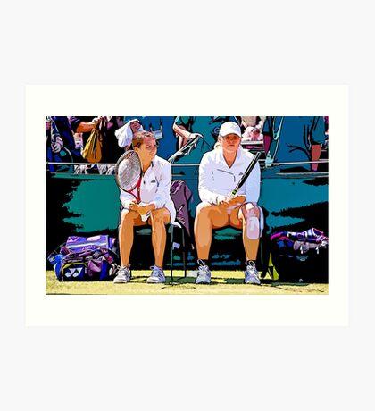 Wimbledon 2007 Art Print