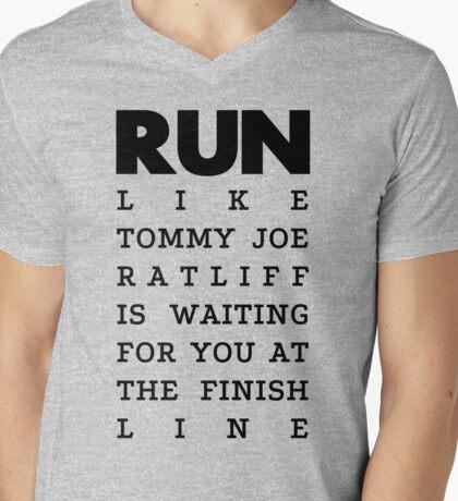 RUN - Tommy Joe Ratliff  Mens V-Neck T-Shirt