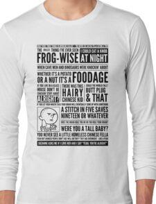 Bald Mank Long Sleeve T-Shirt